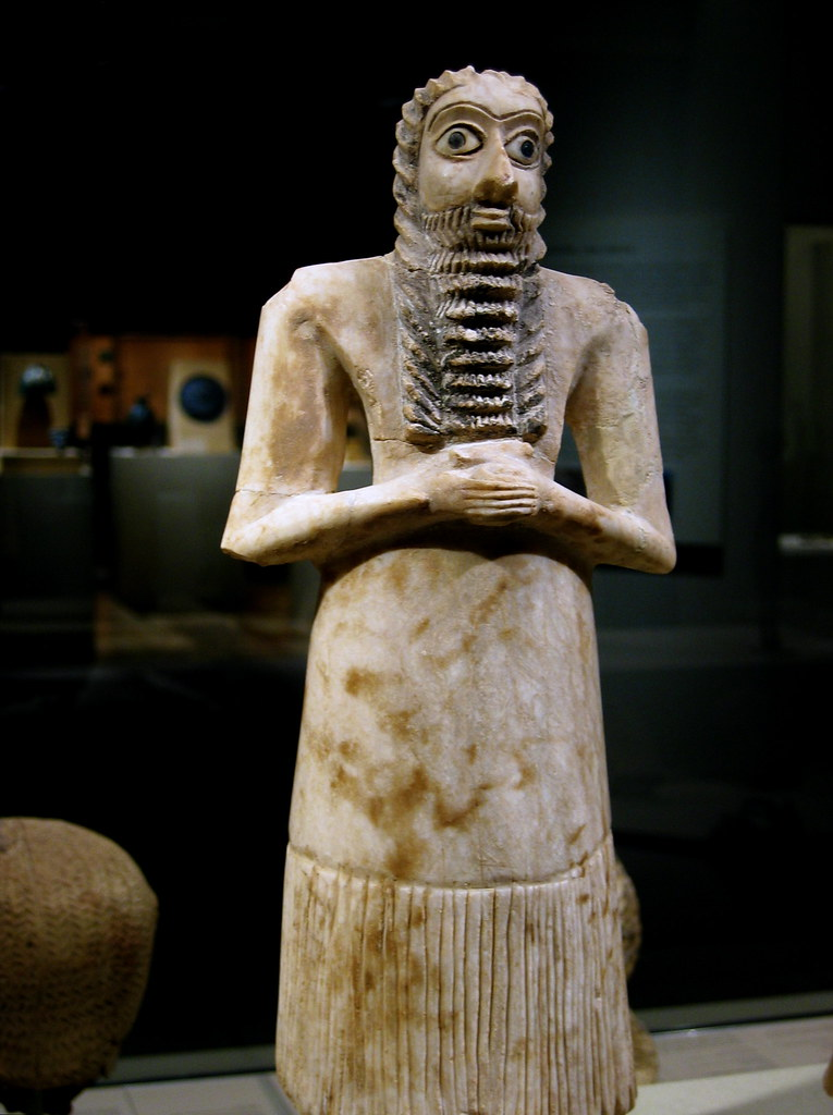 Mesopotamia Iraq Sumerian Figure Metropolitan Museum