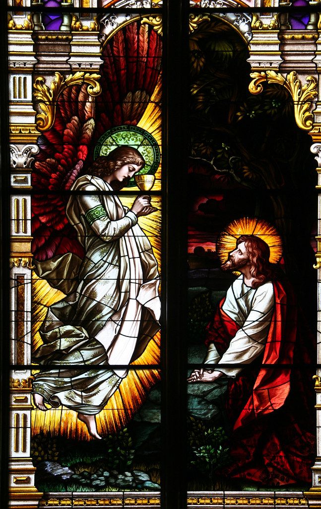Angel Comforts Christ In The Garden Of Gethsemane St Jos