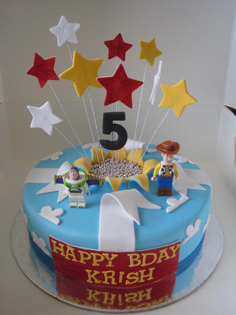 Toy Story Cake 8 Quot Dark Chocolate Mud Cake With Milk