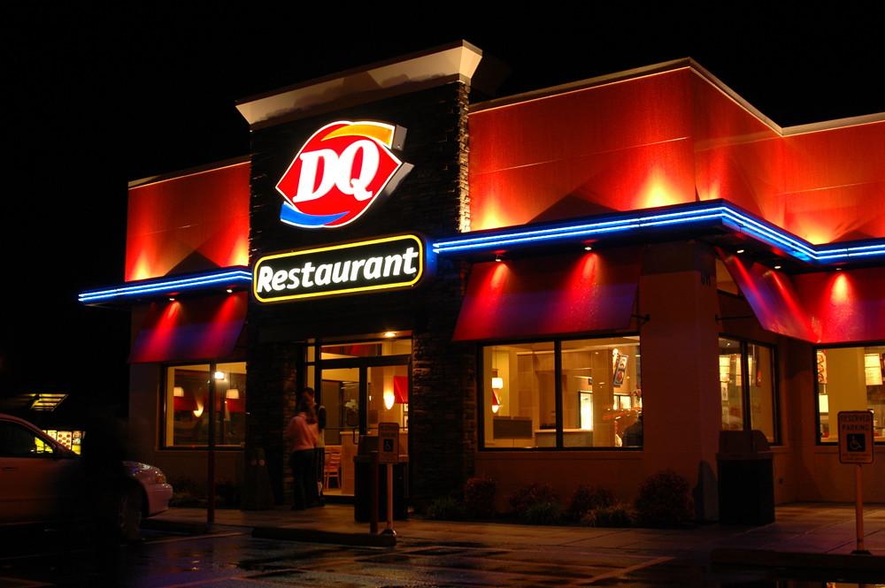 Exterior Restaurant Upgrade Franchise Remodel Dairy Qu