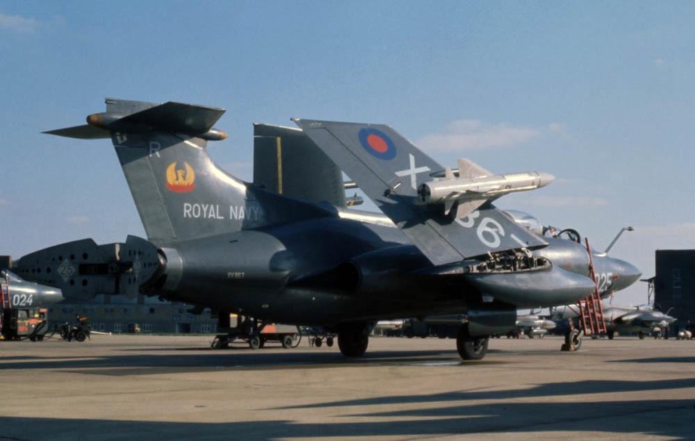 Blackburn Buccaneer S2 Xv867 Of 809 Nas At Raf Honington 1