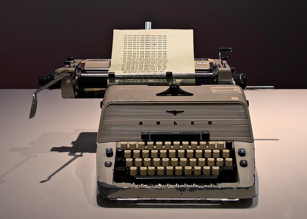 The Shining Typewriter The Jack Torrance Typewriter From