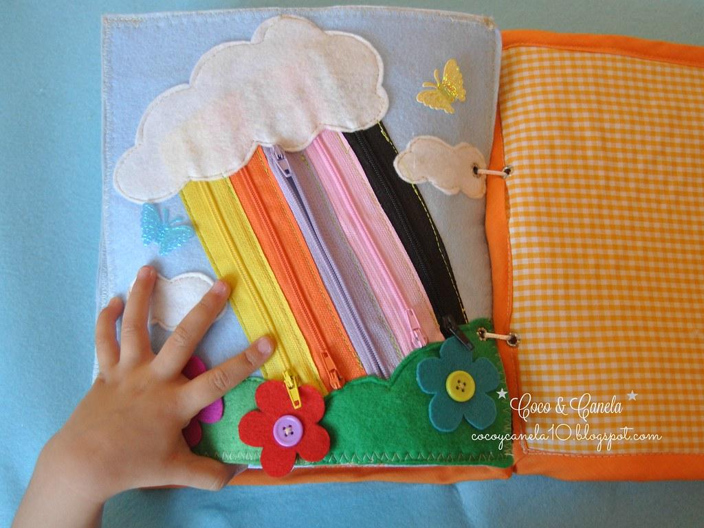 Felt Quiet Book Libro Sensorial De Tela Y Fieltro Flickr