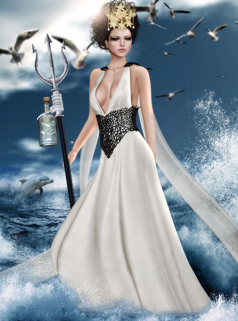 Fth Casting Greek Mythology Amphitrite Goddess Of