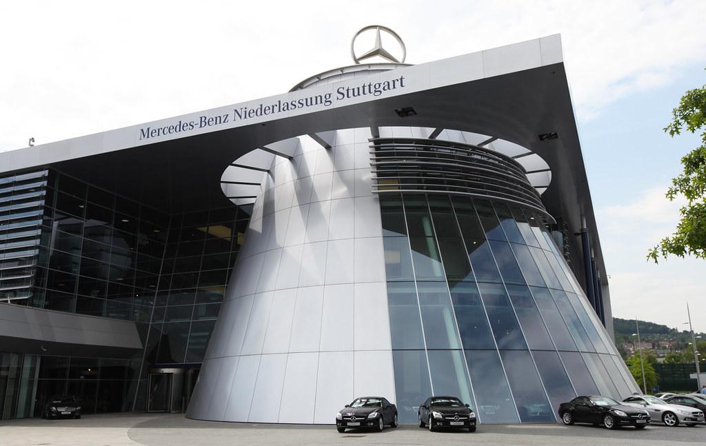 Mercedes Benz Museum Stuttgart Germany A Museum Shop
