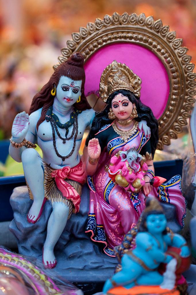Shiva Parvati Navarathri Golu Dolls Vinoth Chandar Flickr