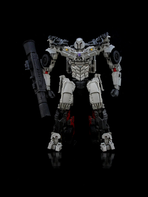 Dark Of The Moon Megatron G1 Style I Used A Wfc Head On Flickr
