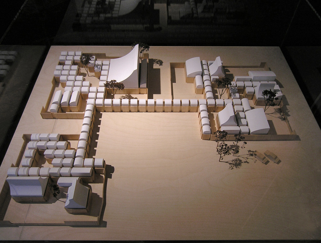 J 248 Rn Utzon First Stage Of School Centre Herning Model 1