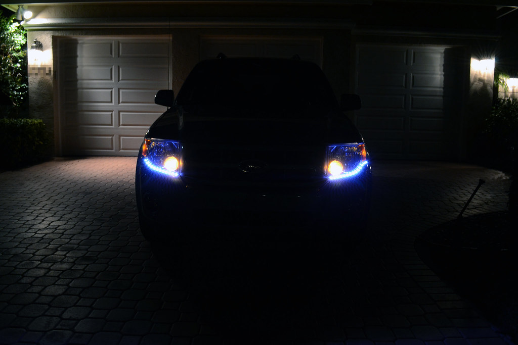 2008 Ford Escape Custom Led Headlight Design This Is My