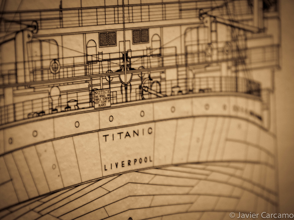 Titanic Blueprints Olympus Digital Camera Javier