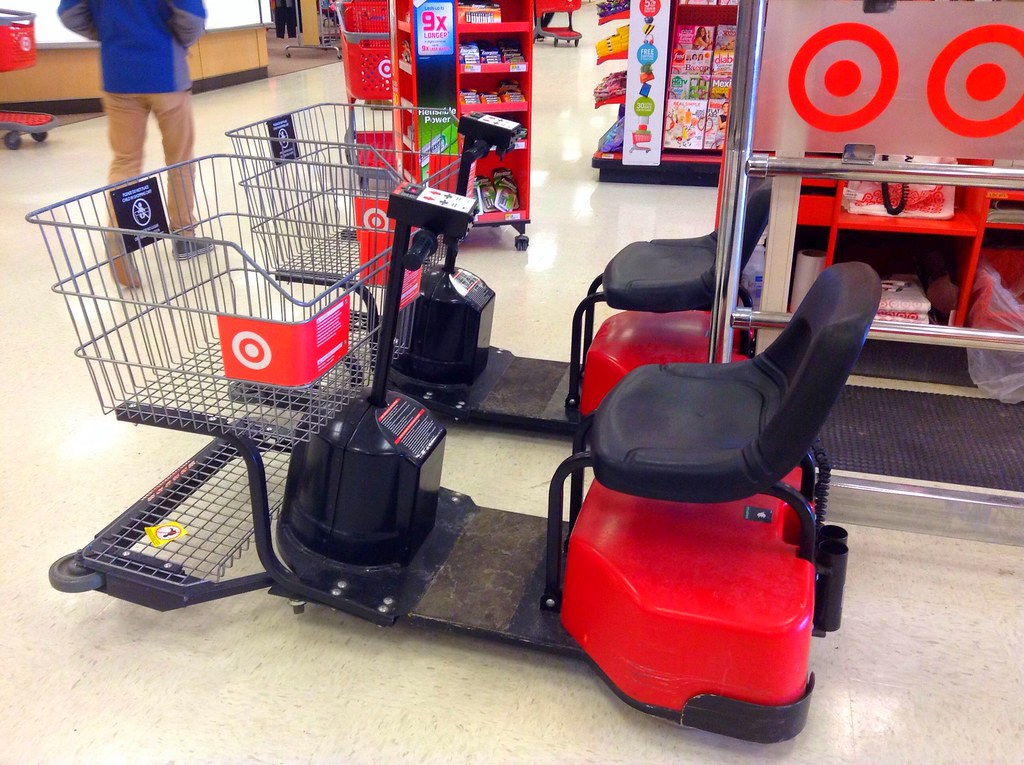 Target Target Store Handicapped Shopping Cart Electric