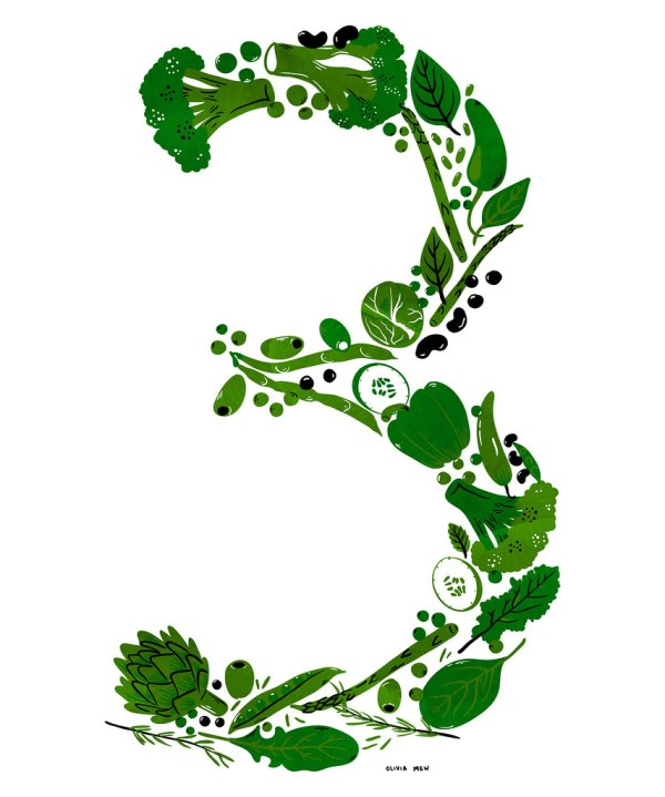 number 3 # 48