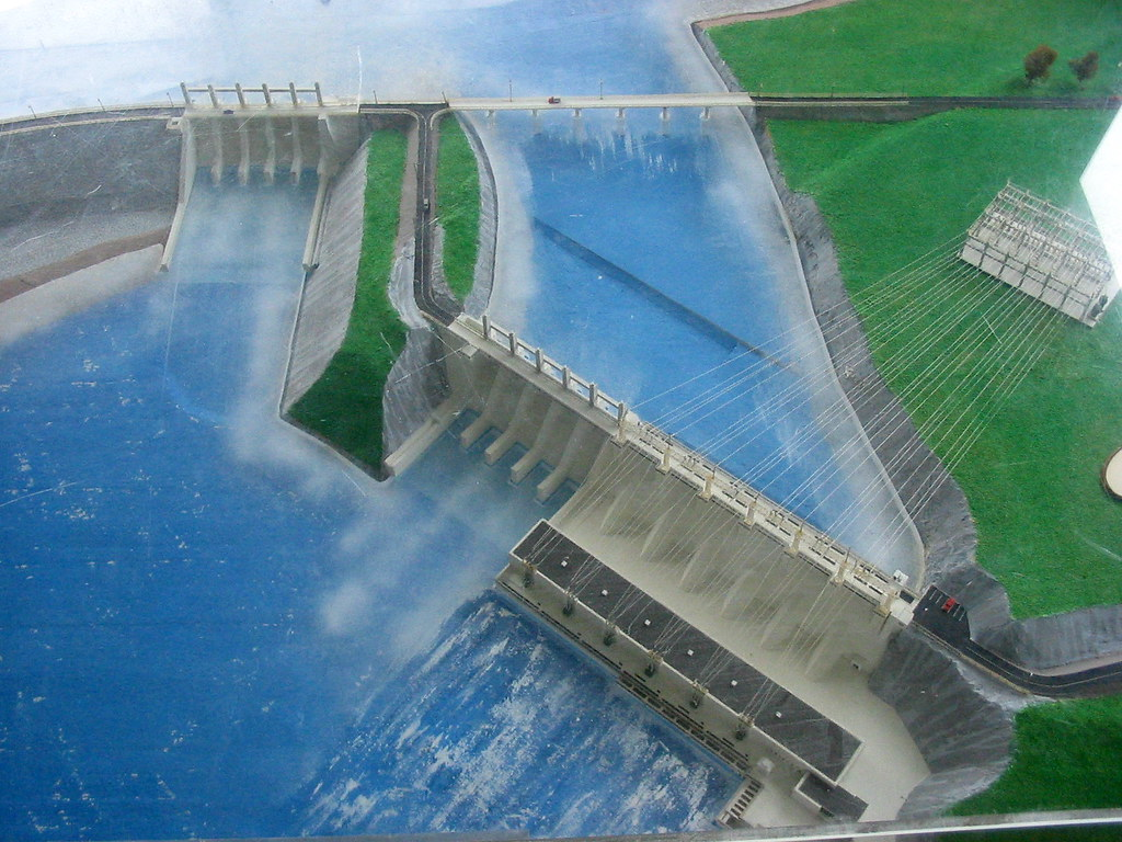 Model Of Mactaquac Dam Chris Campbell Flickr