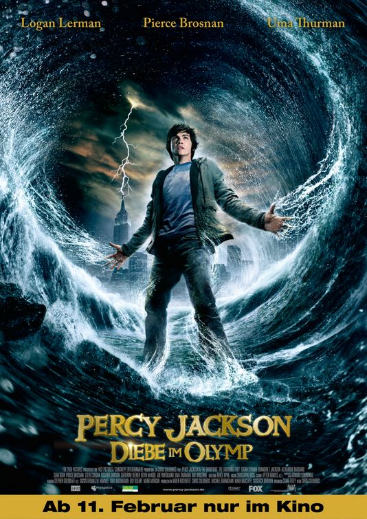 Percy Jackson and the Olympians: The Lightning Thief ...