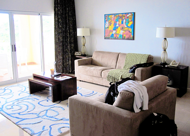 Living Room at the Princess Heights