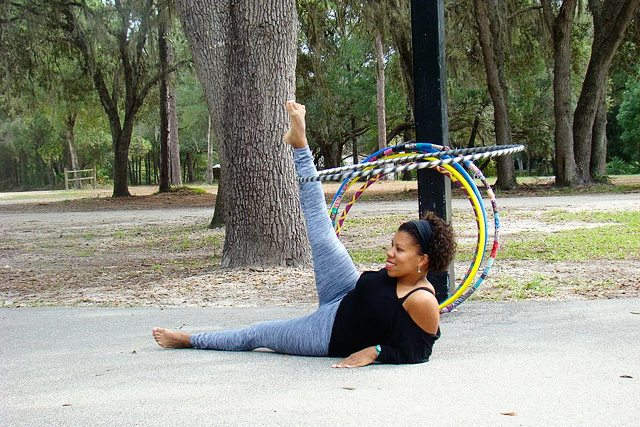 Ever thought about hula hooping? There's are classes and more affiliated with this fun activity! livelaughrowe.com