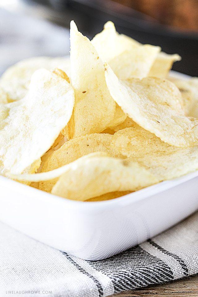 Easy Homemade Salsa Sloppy Joes! Serve on slider buns or hamburg buns with potato chips. livelaughrowe.com