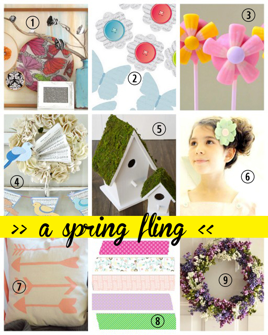 spring fling features