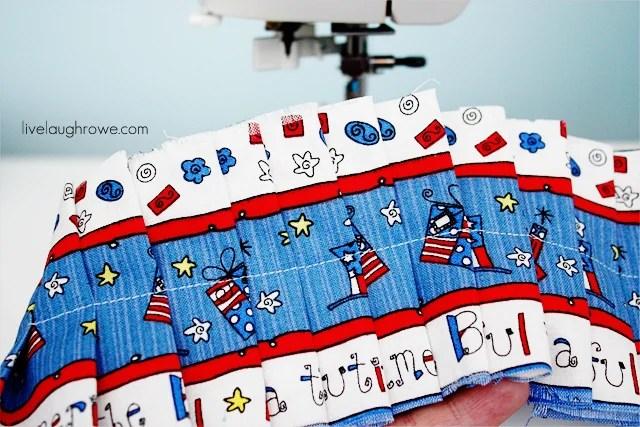 Patriotic Craft with fabric