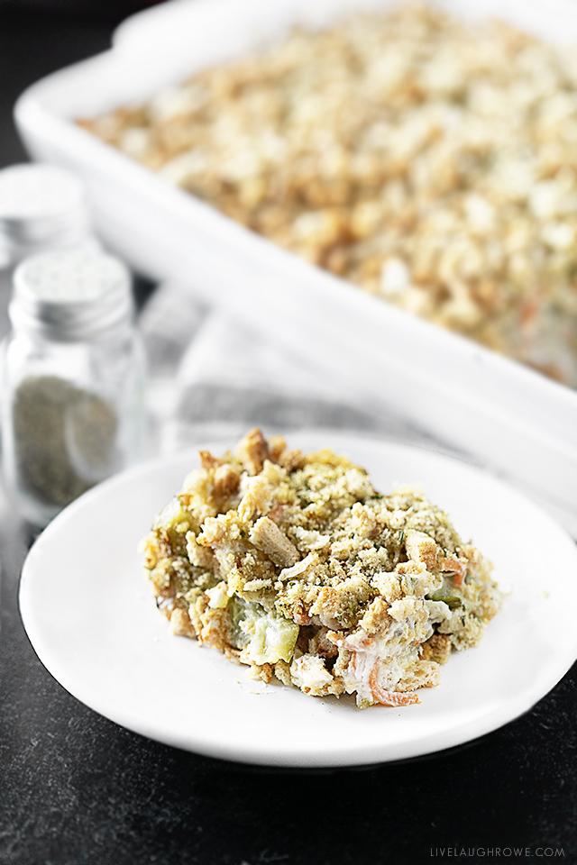 Single Serving Zucchini Casserole