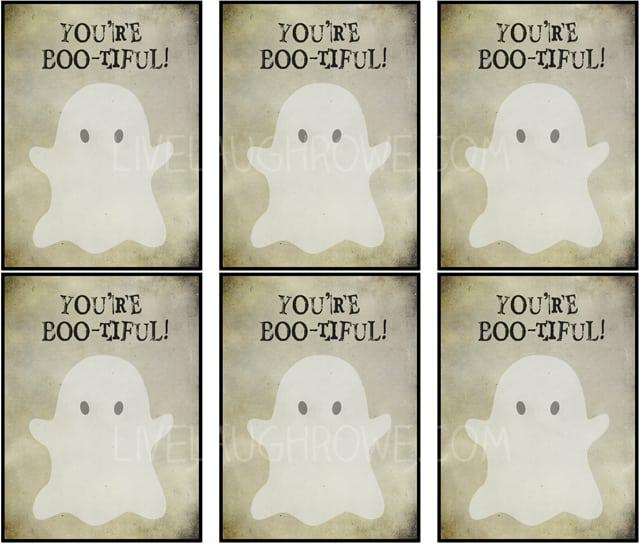 Boo-tiful Halloween Printables with livelaughrowe.com