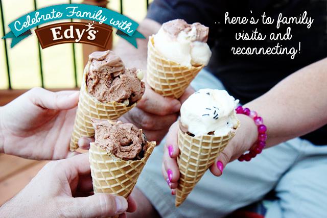 Celebrate Family with Edy's at livelaughrowe.com