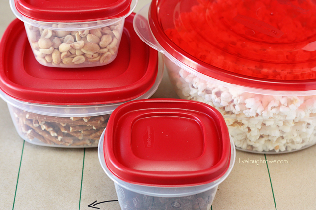 Rubbermaid makes clean up easy!