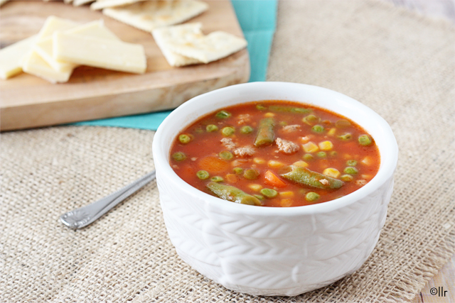 Delicious and easy soup recipe. Poor Man's Soup with livelaughrowe.com