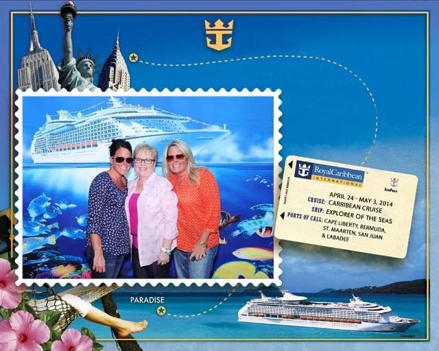 Boarding the Royal Caribbean Explorer of the Sea headed to Bermuda