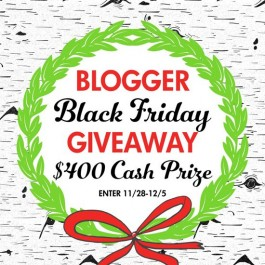 Blogger Black Friday Giveaway - Live Laugh Rowe