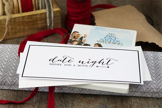 Creative Holiday Gift Giving. Date Night.