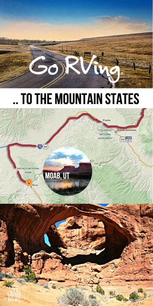 ROAD TRIP! Sharing our Dream RV Vacation to the Mountain States at livelaughrow.com #GoRVing #FindYourAWAY #ad
