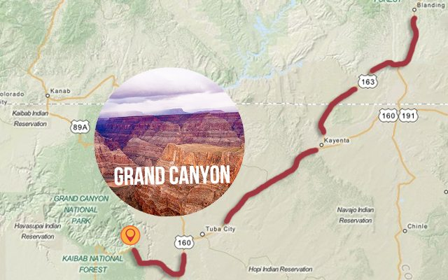 Second stop on our Road Trip to the Mountain States - Grand Canyon, CO. livelaughrow.com #gorving #ad