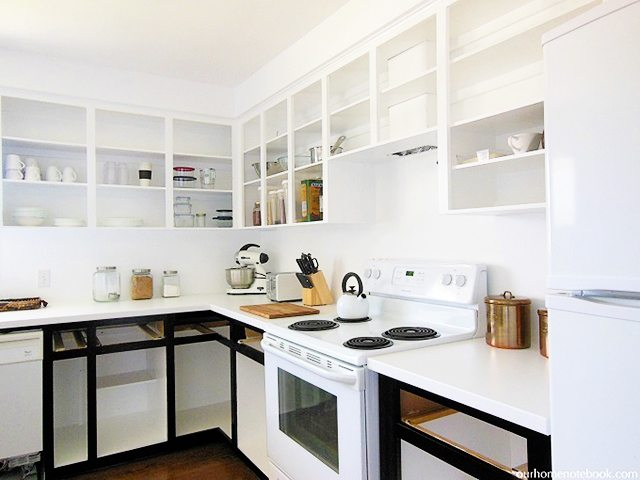 Kitchen Renovation via Our Home Notebook