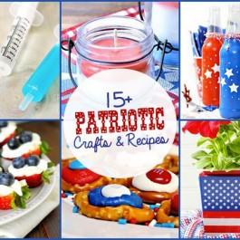 Patriotic Crafts and Recipes - Live Laugh Rowe