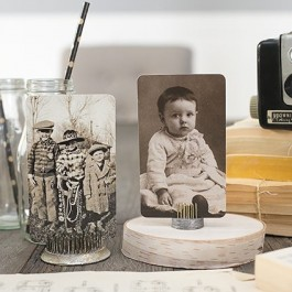 Having a hard time finding old photos for props? Tim Holtz has a set of vintage portraits you can use! Love it. www.livelaughrowe.com