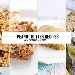 Delicious Peanut Butter Recipes! www.livelaughrowe.com