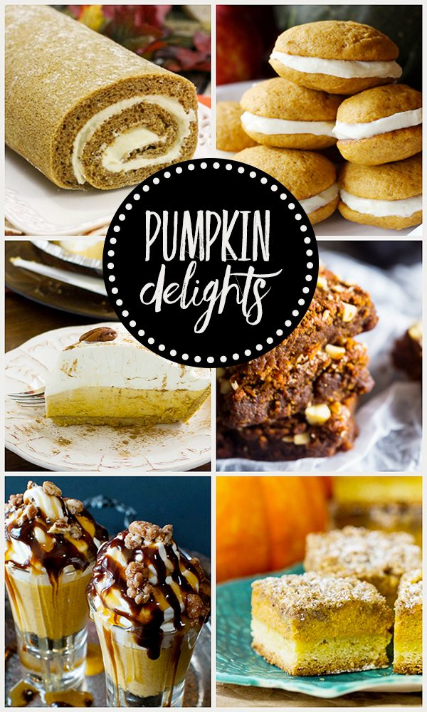 Pumpkin Delights. Yummy party features from Inspiration2
