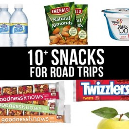 Our must-have snacks for road trips! Is a road trip the same without munchies? livelaughrowe.com