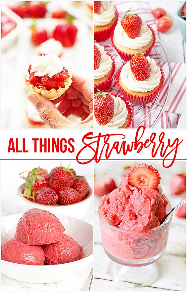 All things strawberry is coming right up! From frozen drinks to puppy treats, you're sure to be inspired. livelaughrowe.com