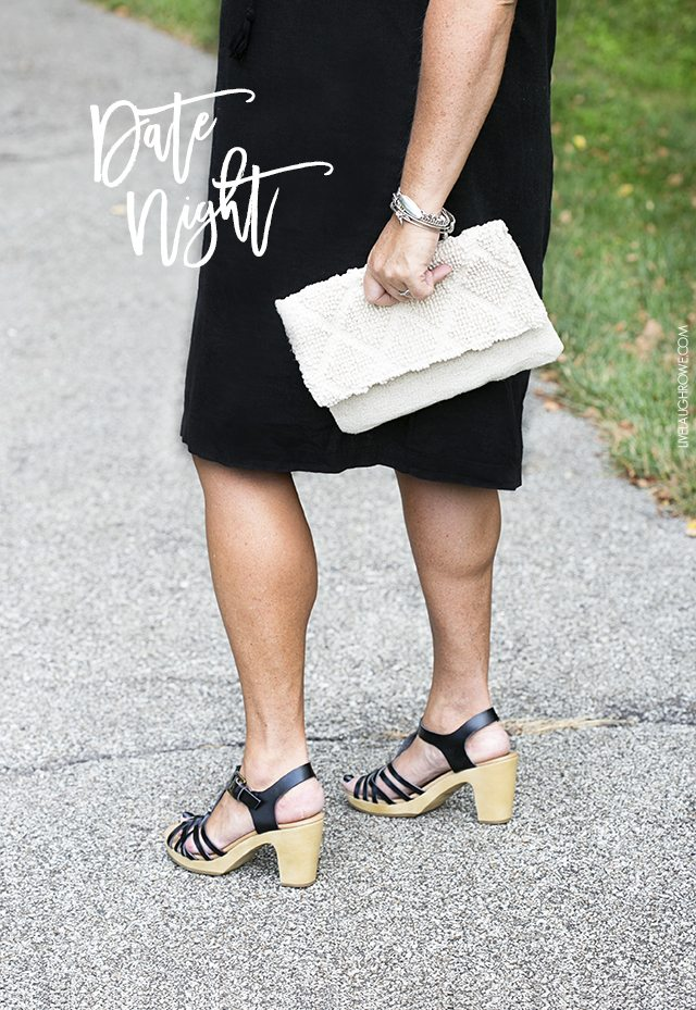 Preparing for a date night can be a lot of work! Sharing one of my favorite secrets to looking put together and keeping the outfit in tip top shape. livelaughrowe.com