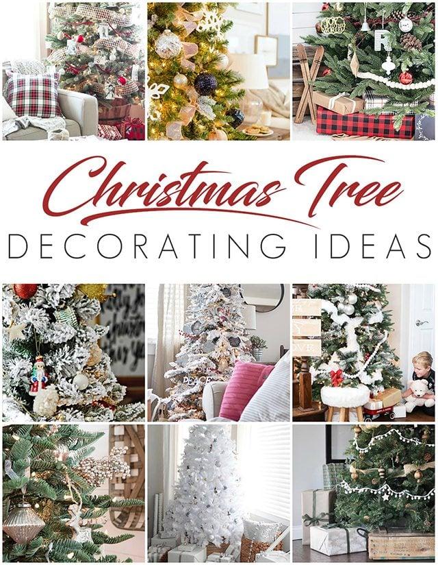 NINE beautiful trees to inspire your holiday decor! livelaughrowe.com