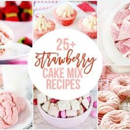 25+ Strawberry Cake Mix Recipes. Yes, please! livelaughrowe.com