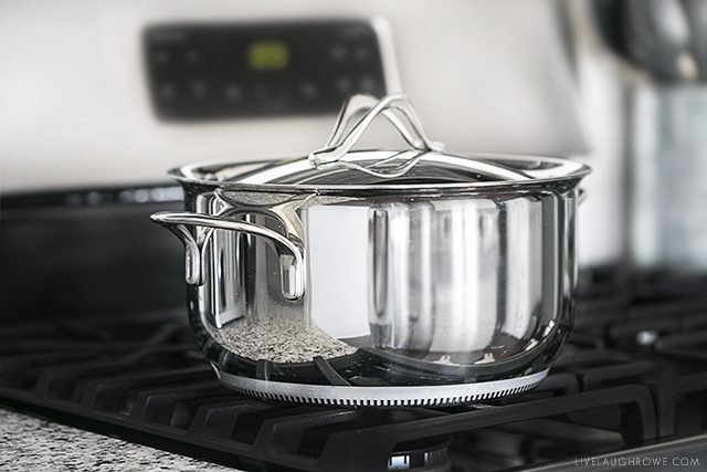 Lagostina Opera Cookware. Learn more about these beautiful stainless-steel pans at livelaughrowe.com