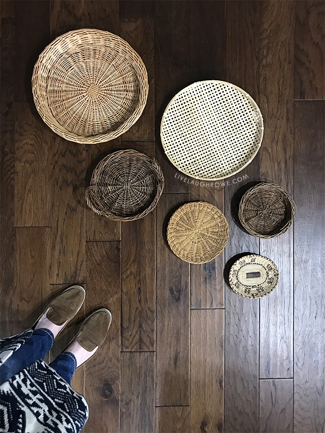 Simple Decor Updates with Thrift Store Finds. Find more inspiration at livelaughrowe.com