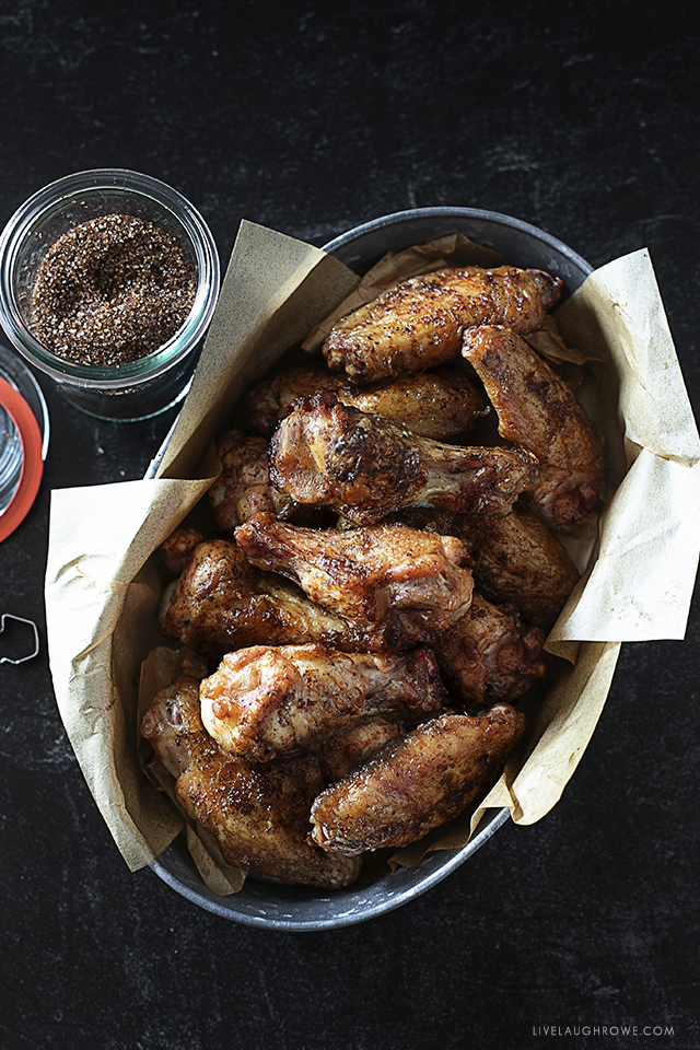 Beautifully Plated Chicken Wings
