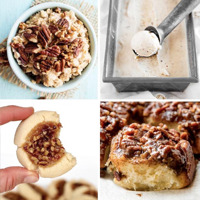 Four Pecan Recipe Pictures