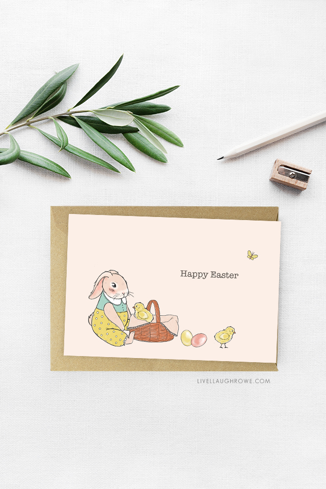 Happy Easter Free Easter Printable