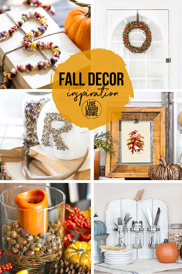 Fall Home Decor Collage
