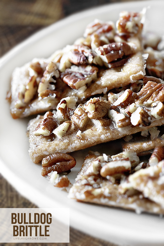 Sweet and Crunchy Brittle